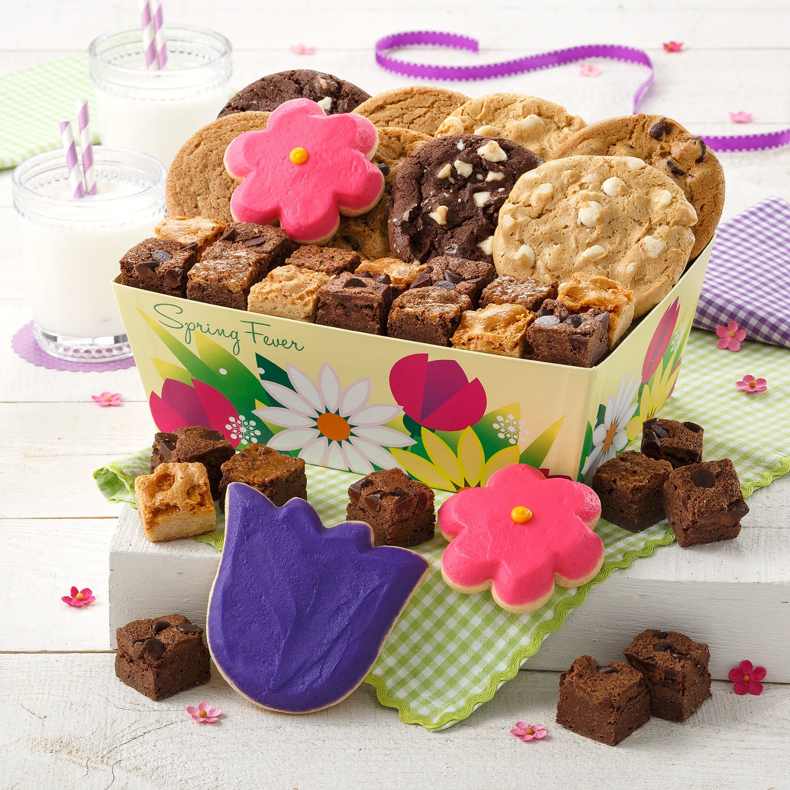 Mrs. Fields Spring Fever Cookie Tray