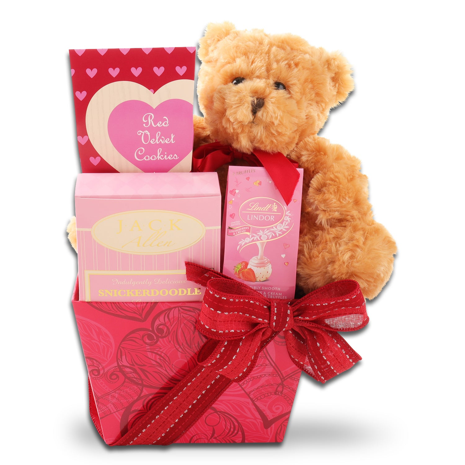 My Valentine Bear & Sweets