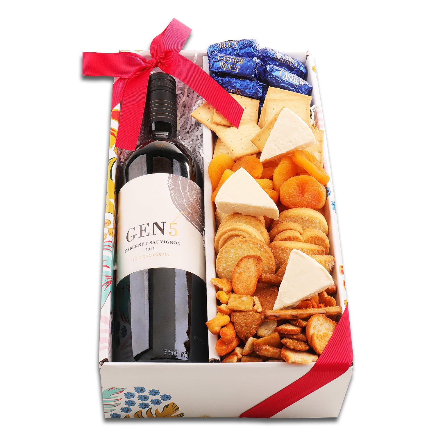 1 Bottle Gift Tray