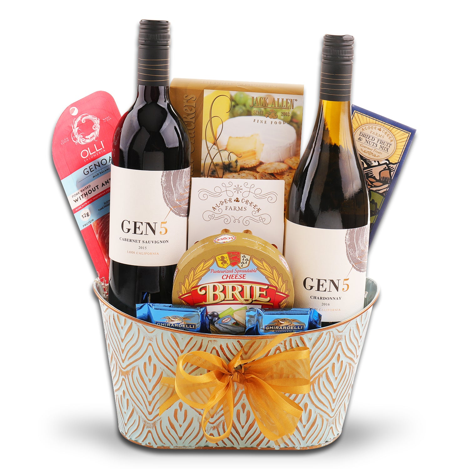 Gen5 Two bottle Gift Basket