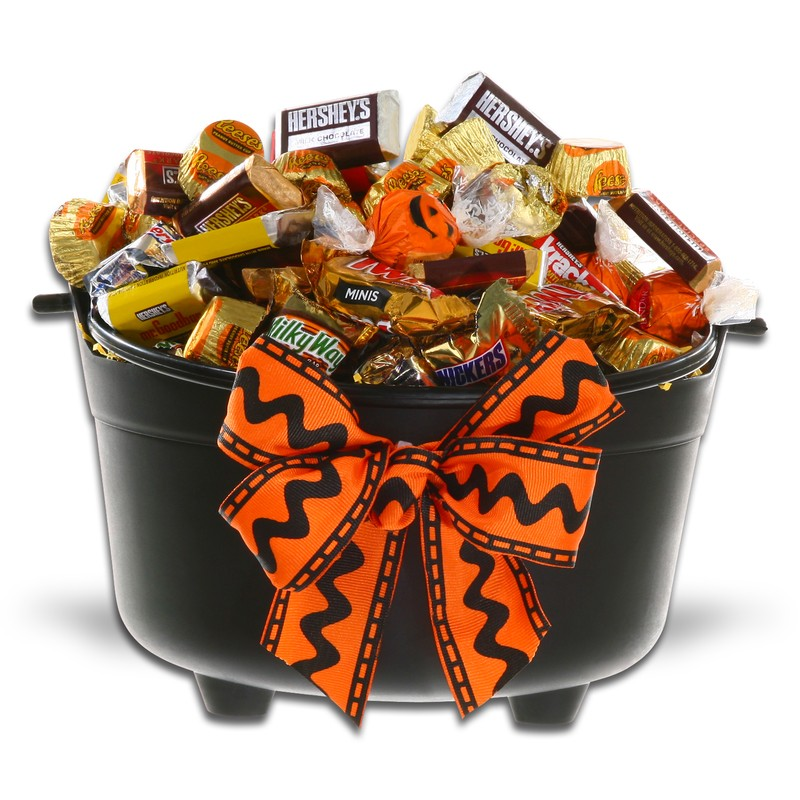 Cauldron of Chocolate Treats
