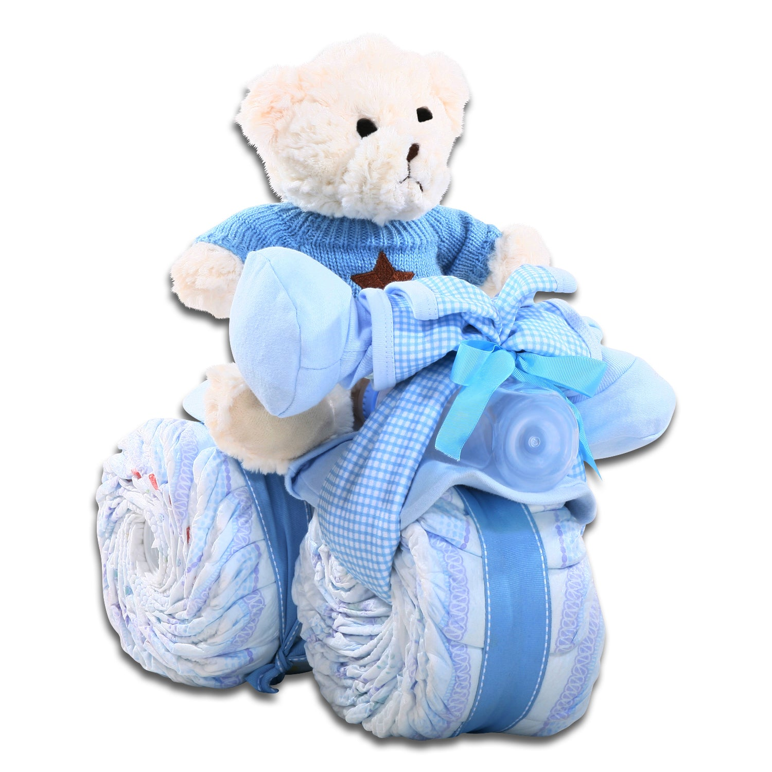Tricycle Diaper Cake-Boy FG06558