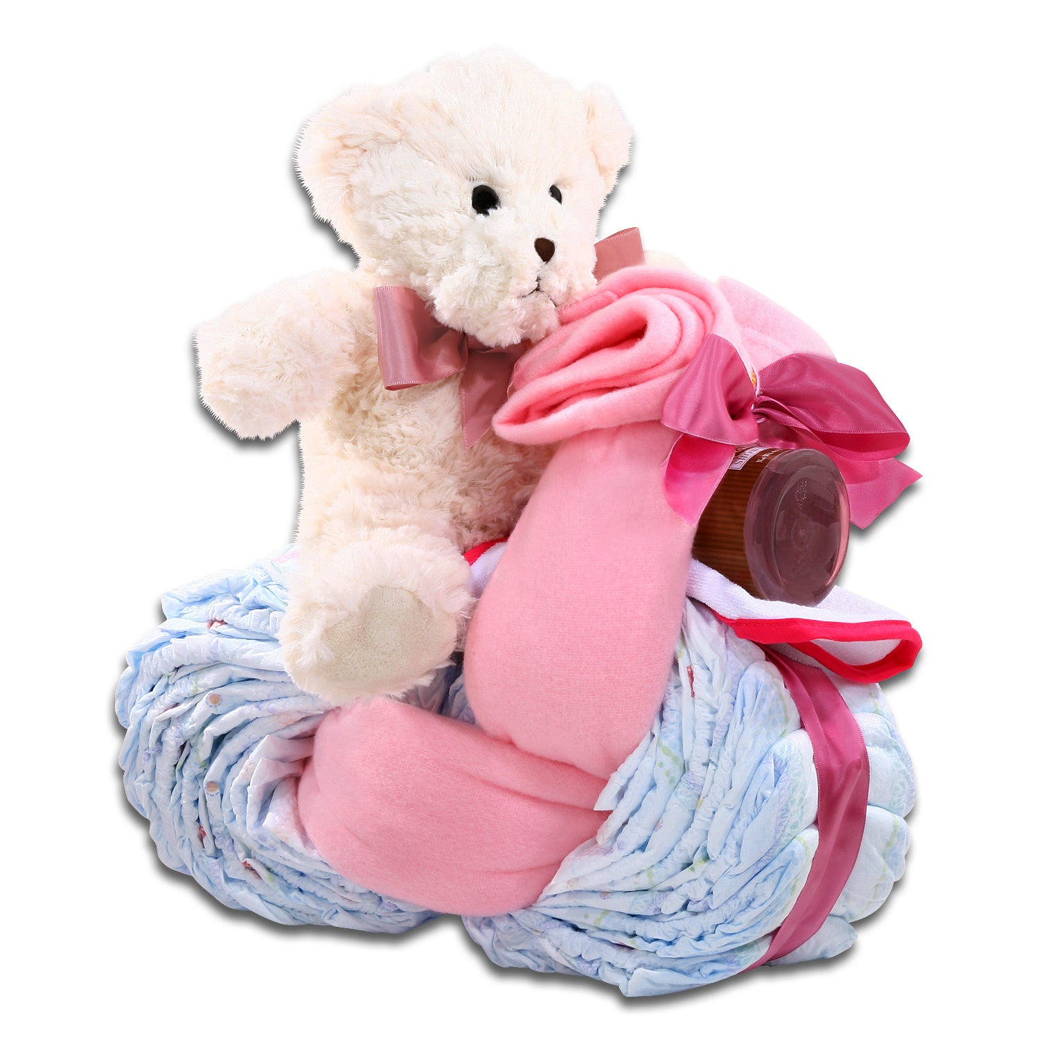 Motorcycle Diaper Cake-Girl FG06569