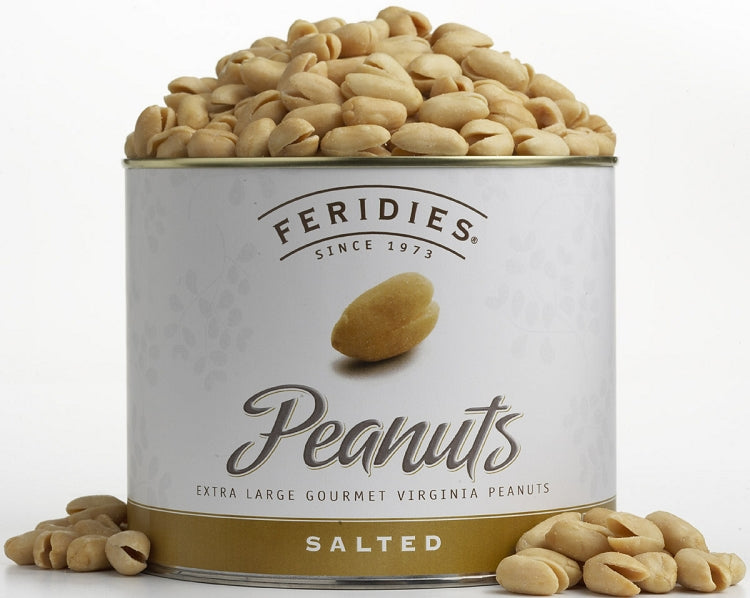 Can Salted Virginia Peanuts