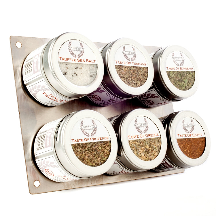 Luxury Gourmet Seasoning & Salt Collection - 6 Tins