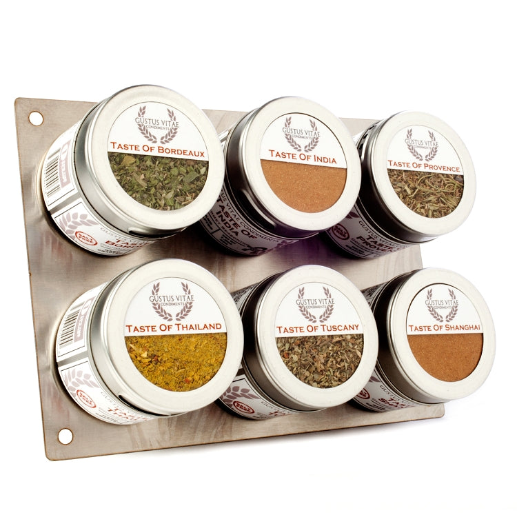 Salt Free Gourmet Seasonings Collection - 6 Tins