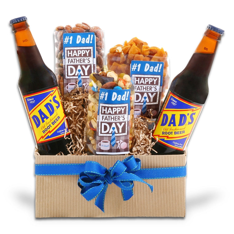 Nut's For Dad Gift Basket