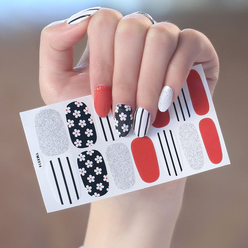 Nail Polish Designed Stickers