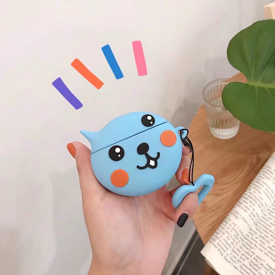 Cute Cartoon character AirPod case