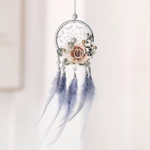 "Dream catcher preserve flower ""Sacred hoop"""