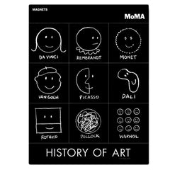 History of Art Magnet Set