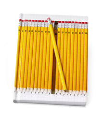 Hidden Pencil Notebook - Yellow Pencil