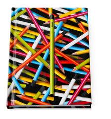 Hidden Pencil Notebook - Colored Pencil