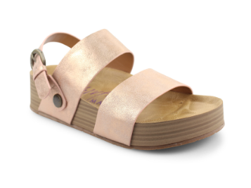 Marge Rose Gold Sandal