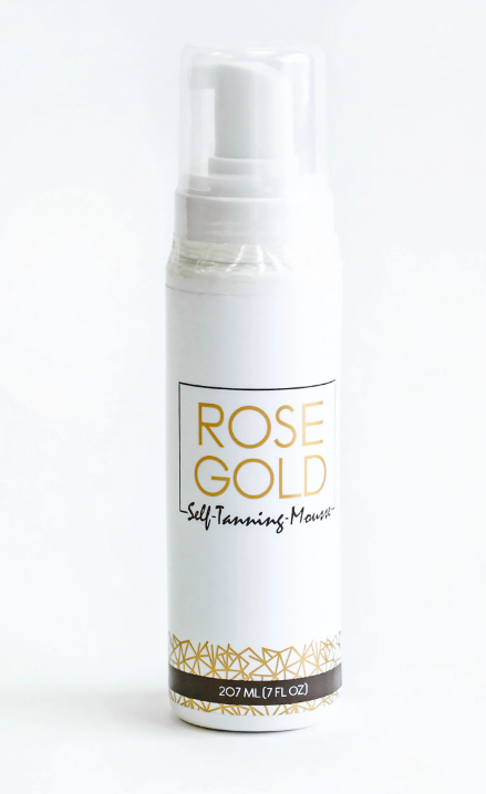 Rose Gold Self-Tanning Mousse