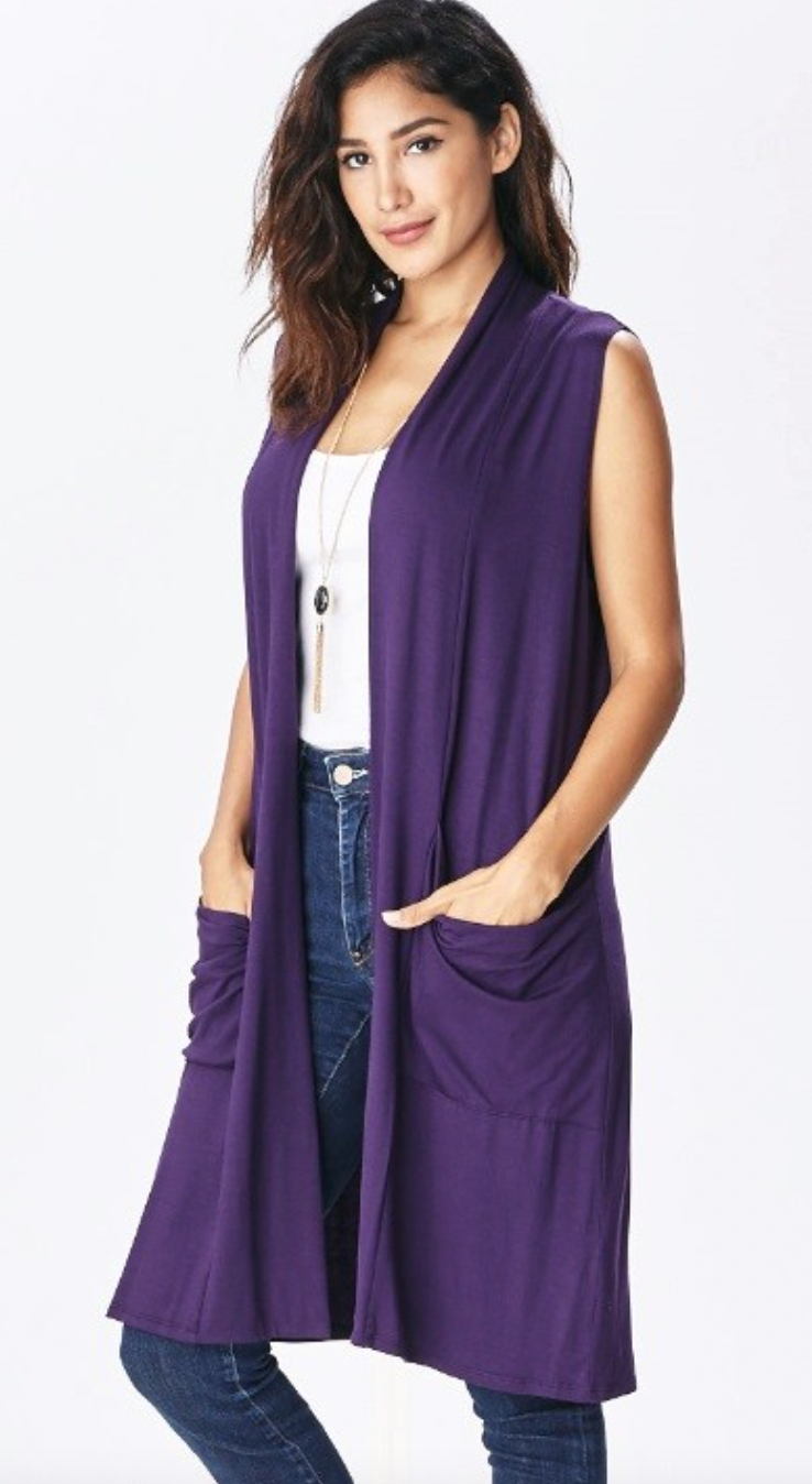 Emma's Duster - Purple