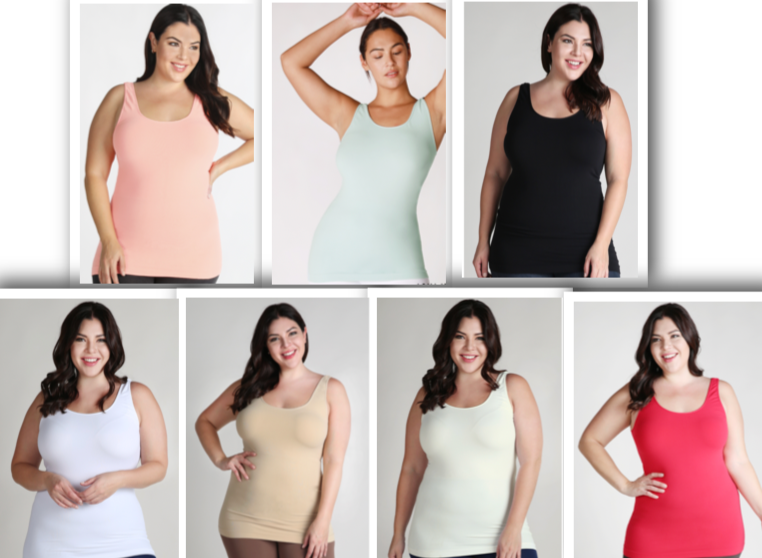 Nikibiki Curvy Jersey Tank (Multiple Colors)