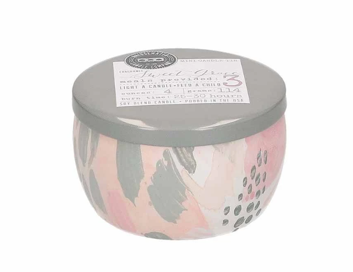 4 Oz Sweet Grace Tin Candle