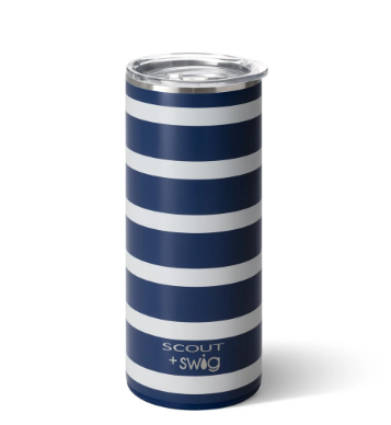 Nantucket Navy Tumbler