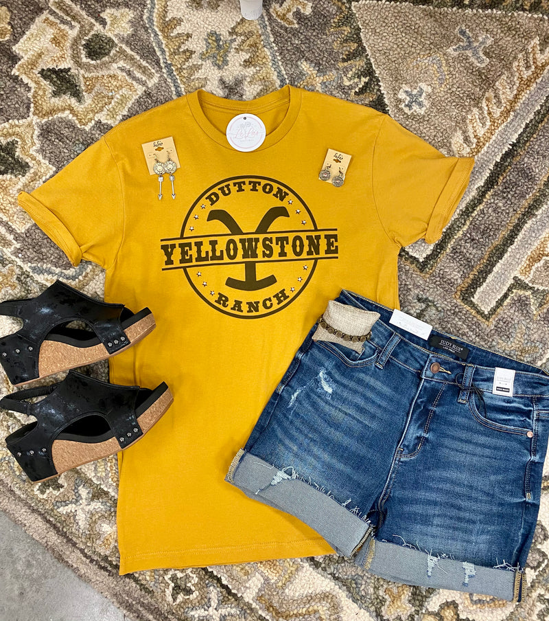 Yellowstone Ranch Tee