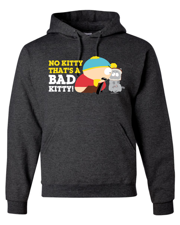South Park Cartman Bad Kitty Fleece Hooded Sweatshirt