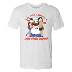 South Park Chef Whore Myself Men's Tri-Blend T-Shirt
