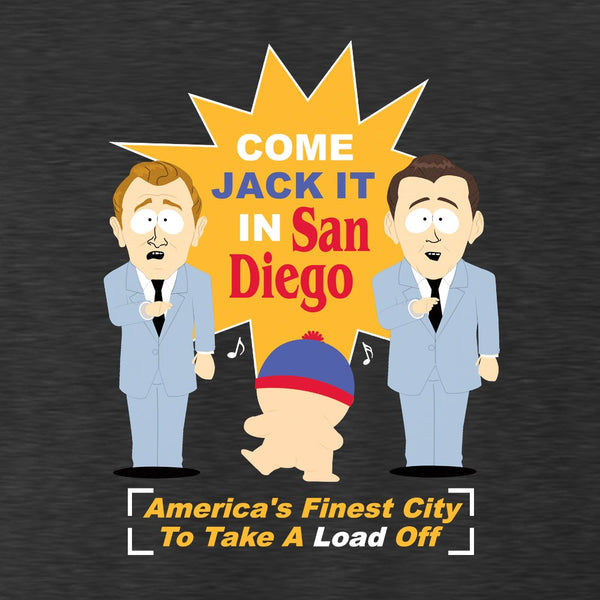 South Park Stan Jack It In San Diego Men's Tri-Blend T-Shirt
