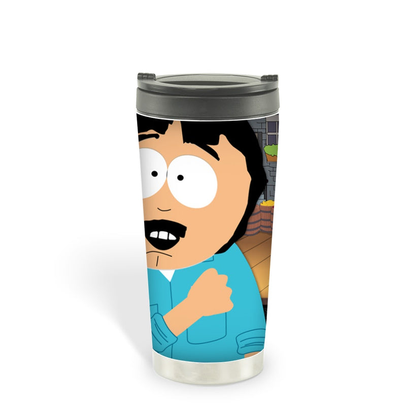 South Park Randy Get On Your Knees 16 oz Stainless Steel Thermal Travel Mug