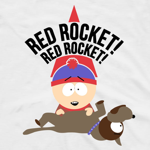 South Park Stan Red Rocket Adult Short Sleeve T-Shirt