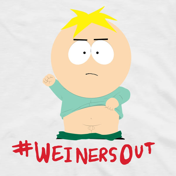 South Park Butter Weiners Out Adult Short Sleeve T-Shirt