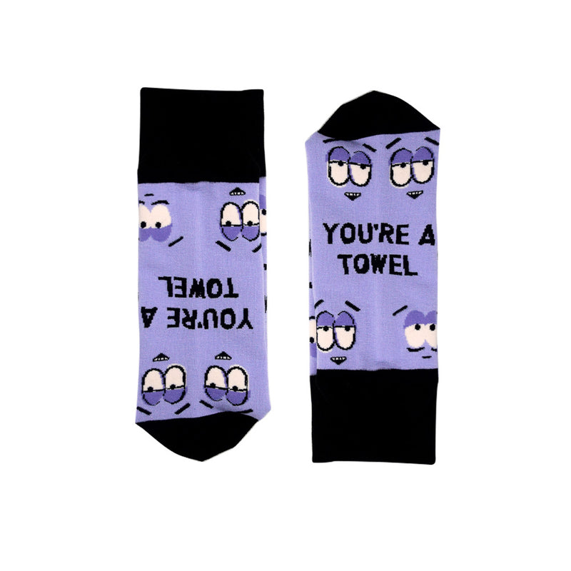 South Park Towelie You're a Towel Socks