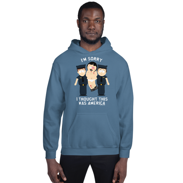 South Park Randy I Thought This Was America Fleece Hooded Sweatshirt