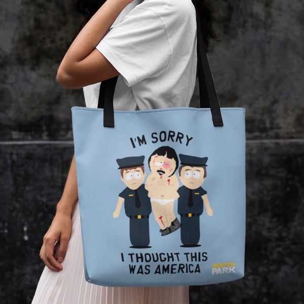 South Park Randy I Thought This Was America Premium Tote Bag