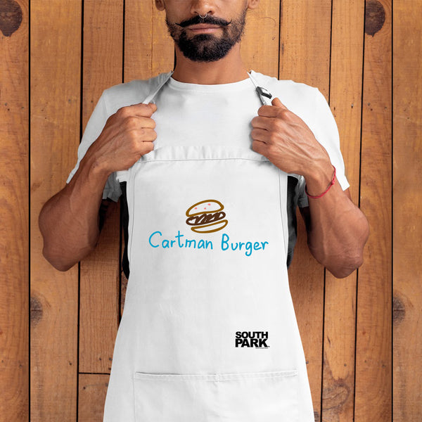 South Park Cartman Burger Apron - With Pockets
