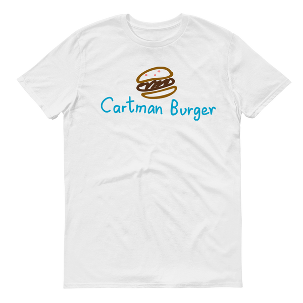 South Park Cartman Burger Adult Short Sleeve T-Shirt