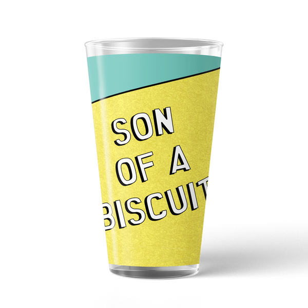 South Park Butters Son of a Biscuit 17 oz Pint Glass