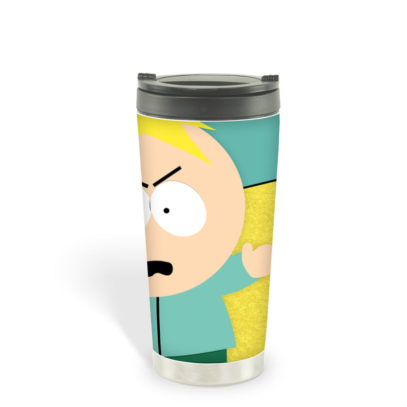 South Park Butters Son of a Biscuit 16oz Stainless Steel Thermal Travel Mug