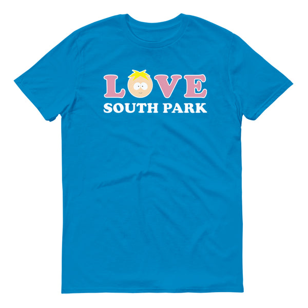 South Park Butters Love Adult Short Sleeve T-Shirt