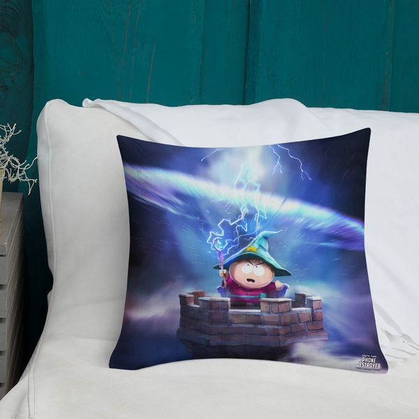 South Park Cartman Grand Wizard Throw Pillow