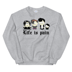 South Park Goth Kids Fleece Crewneck Sweatshirt