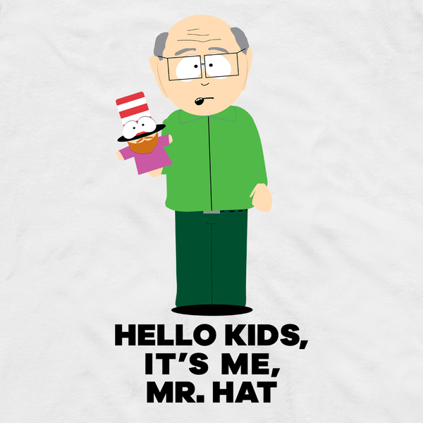 South Park Mr. Garrison Hello Kids Adult Short Sleeve T-Shirt
