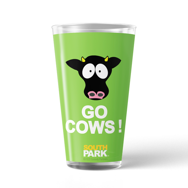 South Park Elementary Cows 17 oz Pint Glass