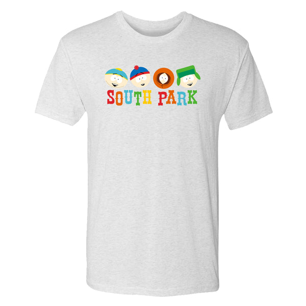 South Park Heads Men's Tri-Blend T-Shirt