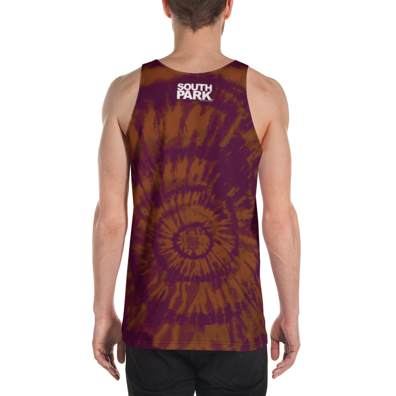 South Park Kenny Tie-Dye Adult All-Over Print Tank Top