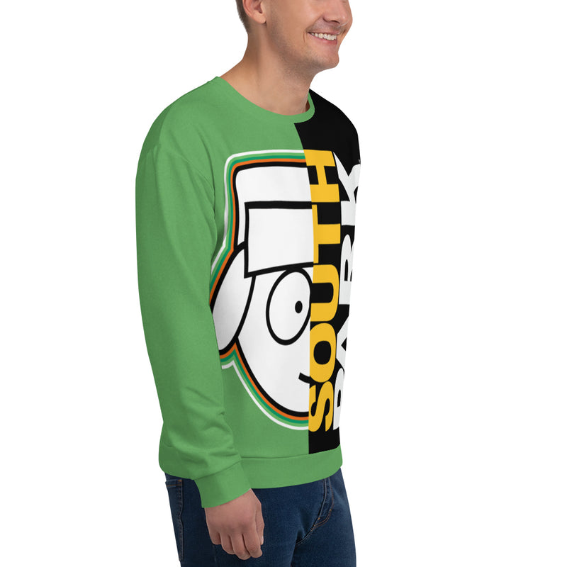 South Park Split Kyle Adult All-Over Print Sweatshirt