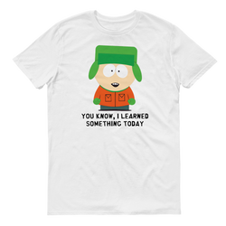 South Park Kyle I Learned Something Today Adult Short Sleeve T-Shirt