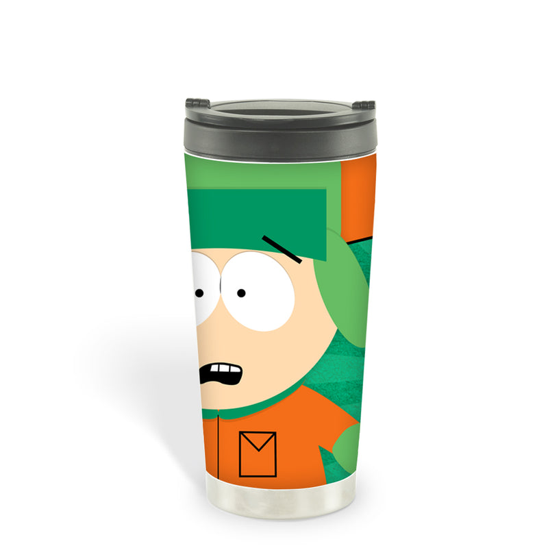South Park Freaking Me Out Dude 16oz Stainless Steel Thermal Travel Mug