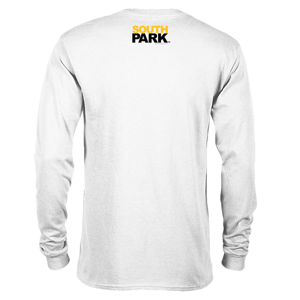 South Park Randy Eyes Up Here Adult Long Sleeve T-Shirt