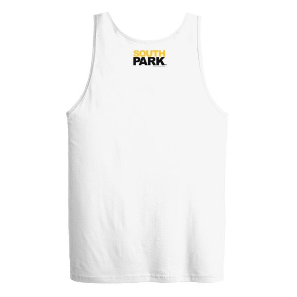 South Park Randy Eyes Up Here Adult Tank Top