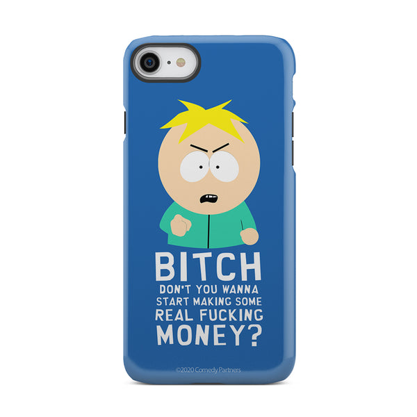 South Park Butters Make Real Money Tough Phone Case